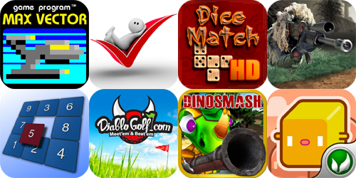iPhone And iPad Apps Gone Free: Max Vector, SlimTasks, Dice Match HD And More