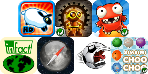 iPhone And iPad Apps Gone Free: Leap Sheep HD, Jump O'CLock, Mega Jump And More
