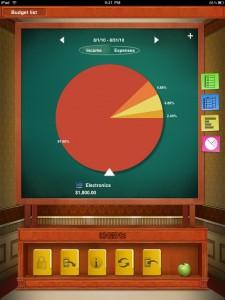 Checkbook for iPad (with Sync) by iBear LLC screenshot