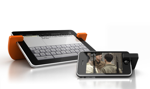 MoviePeg - The Elegant And Portable iDevice Stand Goes Onto Bigger Things, Namely The iPad