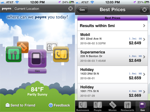 You Can Now Poynt Your Way To Nearby Gas Stations And Low Gas Prices