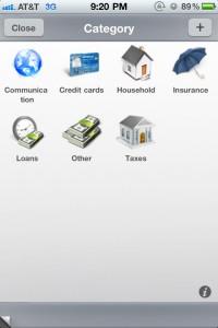 Bills (with sync & notifications) by iBear LLC screenshot