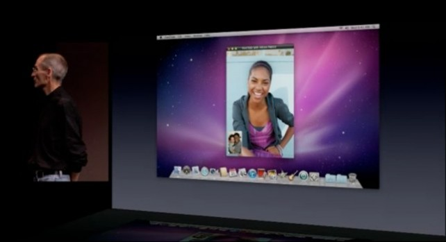 Special Event: Apple Reveals FaceTime For The Mac