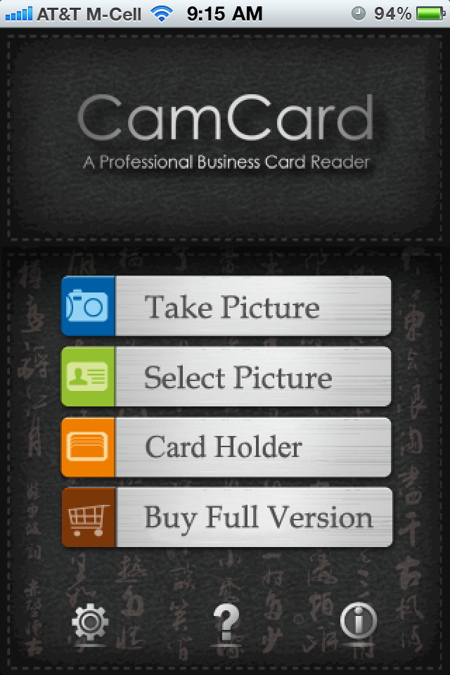 Quickadvice Scan Business Cards Into Your Iphones Contacts With