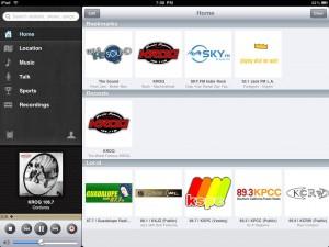 TuneIn Radio by Synsion Radio Technologies screenshot