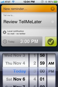 TellMeLater by Sixfoisneuf42 screenshot
