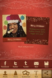 Facecard Christmas Edition by Virtualtwo screenshot